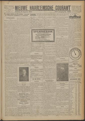 Nieuwe Haarlemsche Courant 1923-08-18