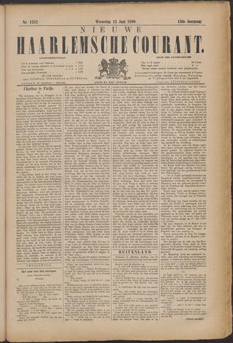 Nieuwe Haarlemsche Courant 1888-06-13