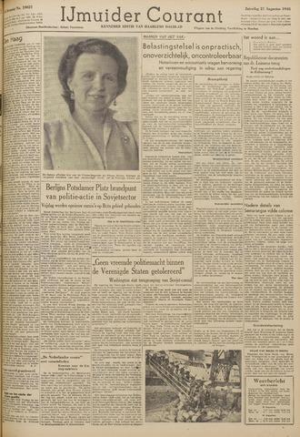 IJmuider Courant 1948-08-21