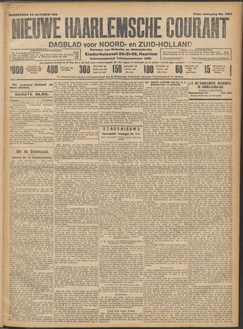 Nieuwe Haarlemsche Courant 1912-10-24