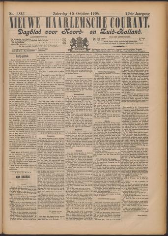 Nieuwe Haarlemsche Courant 1904-10-15