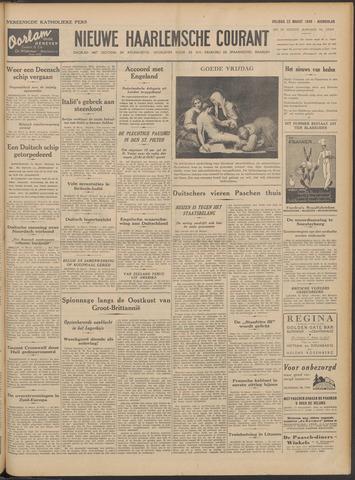 Nieuwe Haarlemsche Courant 1940-03-22