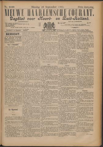 Nieuwe Haarlemsche Courant 1905-09-26