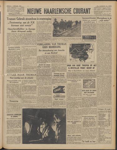 Nieuwe Haarlemsche Courant 1950-12-01