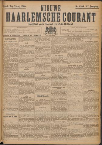 Nieuwe Haarlemsche Courant 1906-08-09