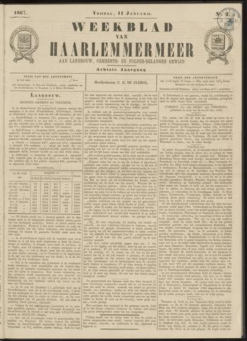 Weekblad van Haarlemmermeer 1867-01-11