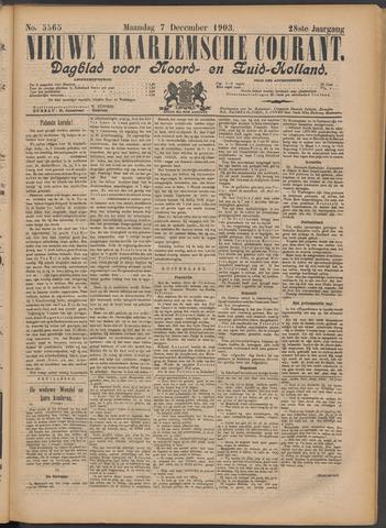 Nieuwe Haarlemsche Courant 1903-12-07