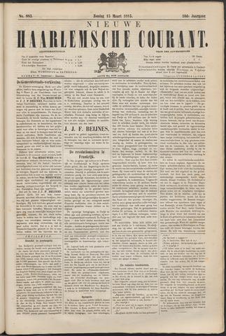 Nieuwe Haarlemsche Courant 1885-03-15