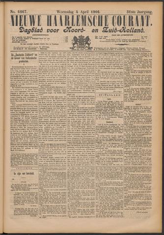 Nieuwe Haarlemsche Courant 1906-04-04