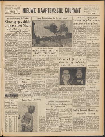 Nieuwe Haarlemsche Courant 1959-07-27