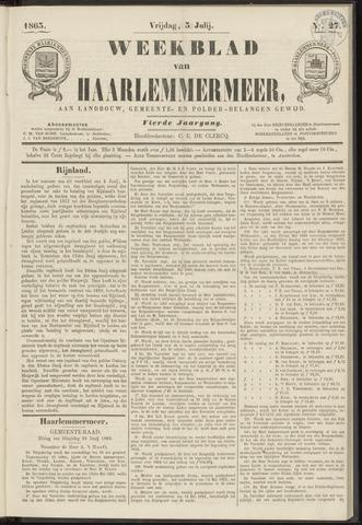 Weekblad van Haarlemmermeer 1863-07-03