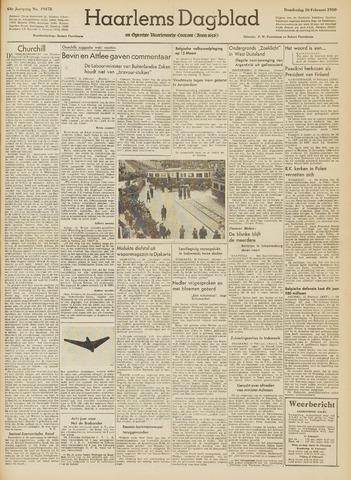 Haarlem's Dagblad 1950-02-16