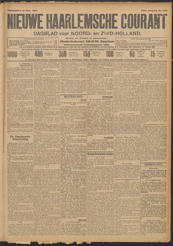 Nieuwe Haarlemsche Courant 1909-11-25