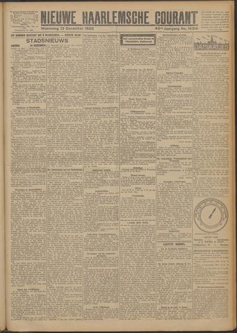 Nieuwe Haarlemsche Courant 1922-12-13