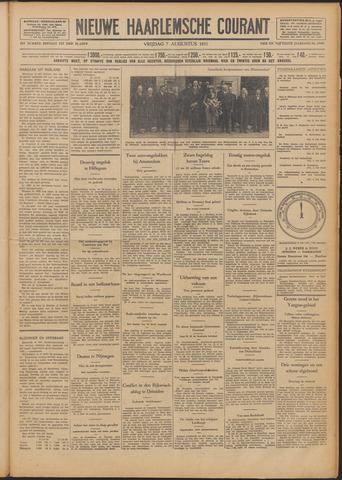 Nieuwe Haarlemsche Courant 1931-08-07