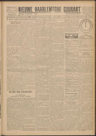Nieuwe Haarlemsche Courant 1925-09-09