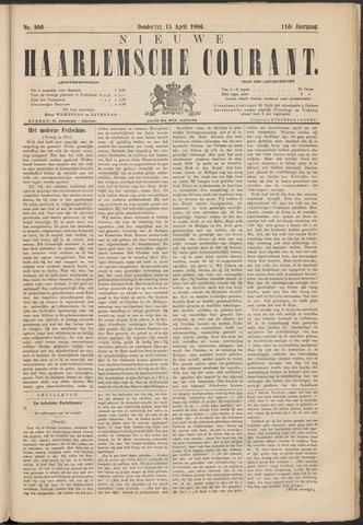 Nieuwe Haarlemsche Courant 1886-04-15