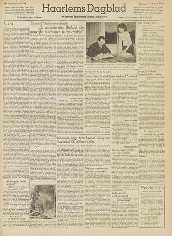 Haarlem's Dagblad 1950-02-11