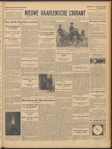 Nieuwe Haarlemsche Courant 1934-03-11