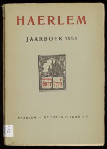 Jaarverslagen en Jaarboeken Vereniging Haerlem 1954