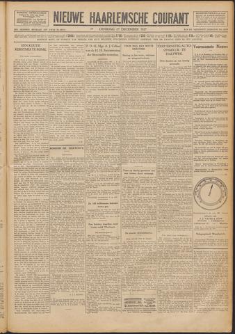 Nieuwe Haarlemsche Courant 1927-12-27