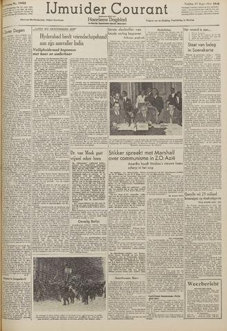 IJmuider Courant 1948-09-17