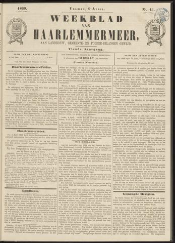 Weekblad van Haarlemmermeer 1869-04-09