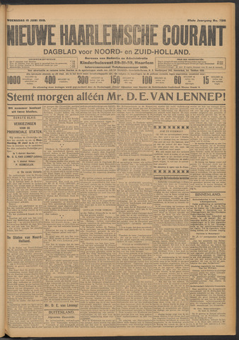 Nieuwe Haarlemsche Courant 1910-06-15