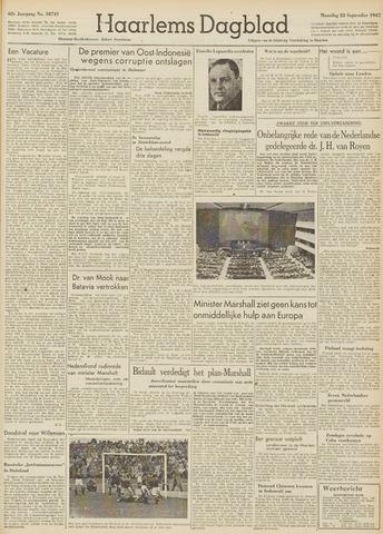 Haarlem's Dagblad 1947-09-22