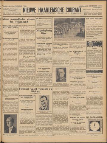 Nieuwe Haarlemsche Courant 1935-09-13