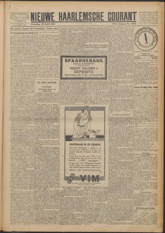 Nieuwe Haarlemsche Courant 1924-04-30