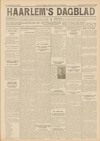 Haarlem's Dagblad 1926-12-30