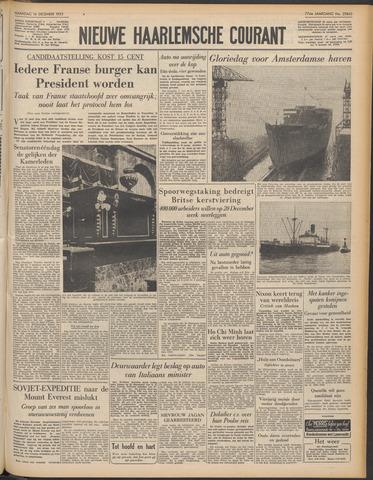 Nieuwe Haarlemsche Courant 1953-12-14