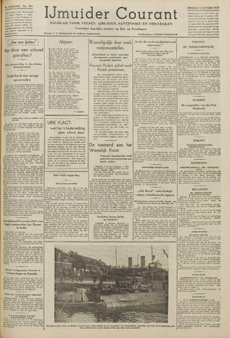IJmuider Courant 1939-10-03