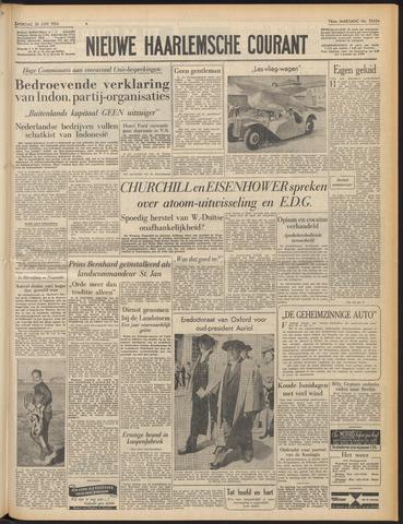 Nieuwe Haarlemsche Courant 1954-06-26