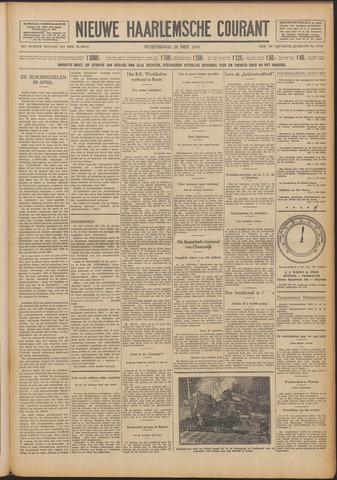 Nieuwe Haarlemsche Courant 1931-05-20