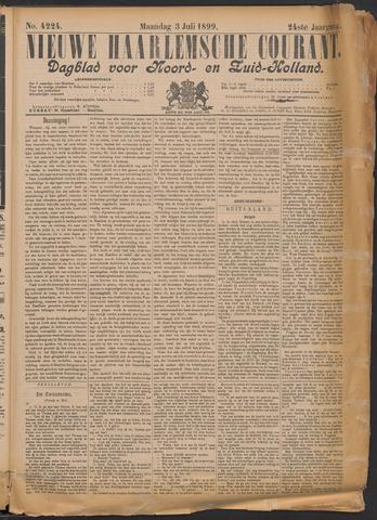 Nieuwe Haarlemsche Courant 1899-07-03