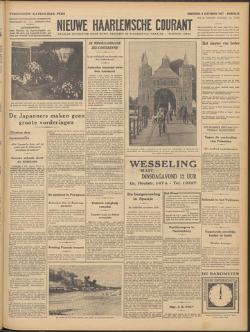 Nieuwe Haarlemsche Courant 1937-09-09
