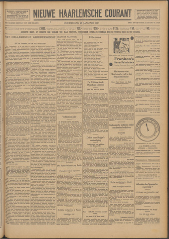 Nieuwe Haarlemsche Courant 1931-01-29
