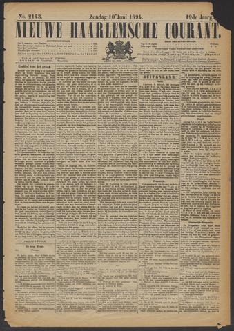 Nieuwe Haarlemsche Courant 1894-06-10