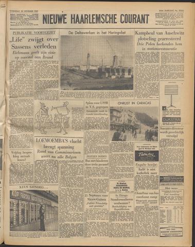 Nieuwe Haarlemsche Courant 1960-11-30