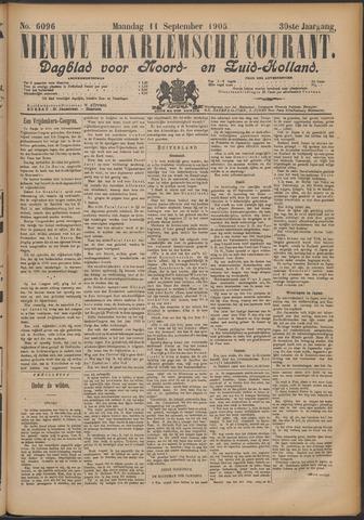Nieuwe Haarlemsche Courant 1905-09-11