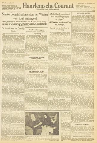 Haarlemsche Courant 1943-11-25