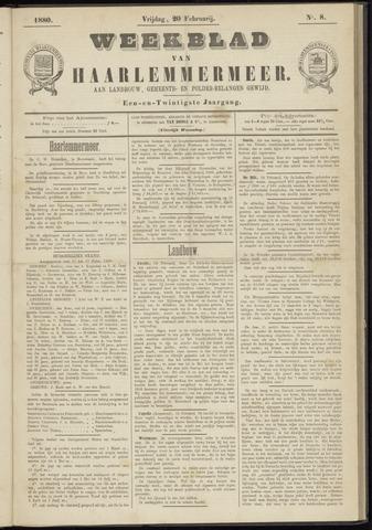 Weekblad van Haarlemmermeer 1880-02-20