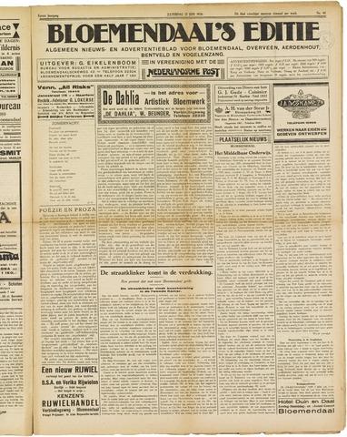 Bloemendaal's Editie 1926-06-12