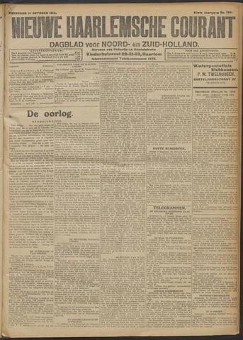 Nieuwe Haarlemsche Courant 1914-10-14