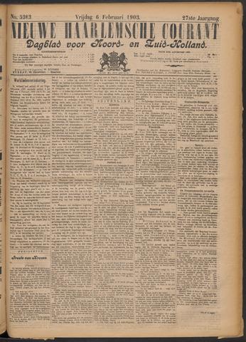 Nieuwe Haarlemsche Courant 1903-02-06