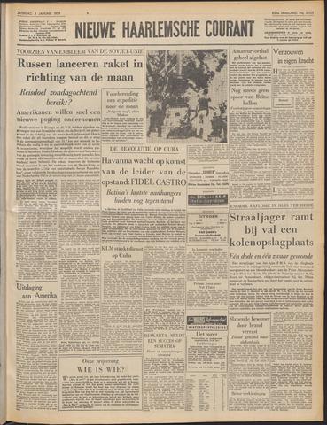 Nieuwe Haarlemsche Courant 1959-01-03