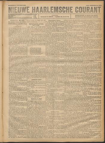 Nieuwe Haarlemsche Courant 1920-10-27