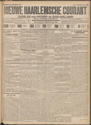 Nieuwe Haarlemsche Courant 1912-11-25